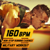 160 BPM Non-Stop Running Cadence Military Workout - U.S. Drill Sergeant Field Recordings