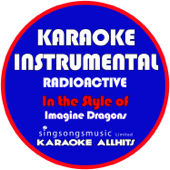 Download Karaoke All Hits - Radioactive (In the Style of Imagine Dragons) [Karaoke Instrumental Version]