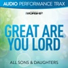 Great Are You Lord (Live) [Audio Performance Trax] - EP, All Sons & Daughters