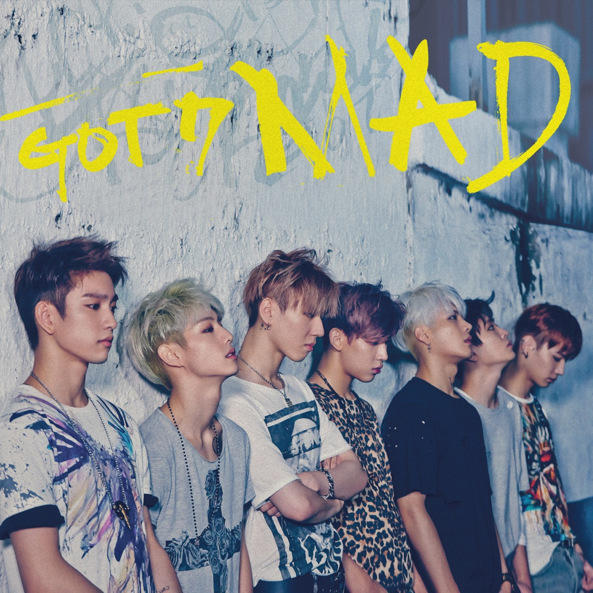 MAD - EP GOT7 CD cover