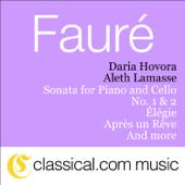 Sonata for Piano and Cello No. 1 In D Minor, Op. 109 - Allegro