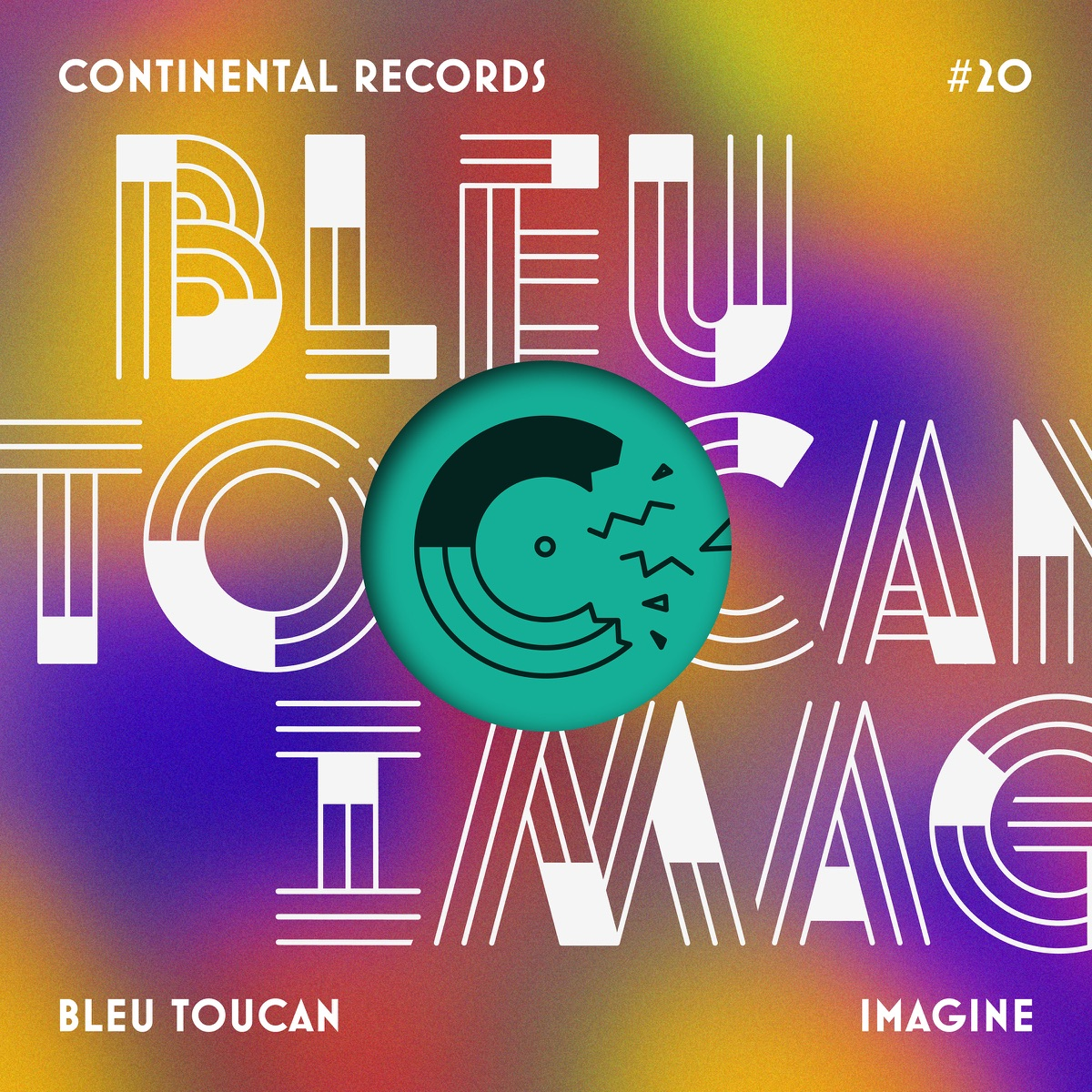 Imagine - EP Bleu Toucan CD cover