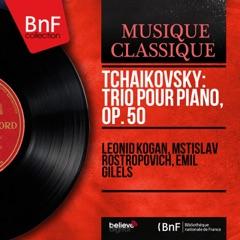 """Piano Trio in A Minor, Op. 50 """"In Memory of a Great Artist"""": I. Pezzo elegiaco. Moderato assai"""