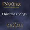 Paxtrax Professional Backing Tracks: Christmas Songs
