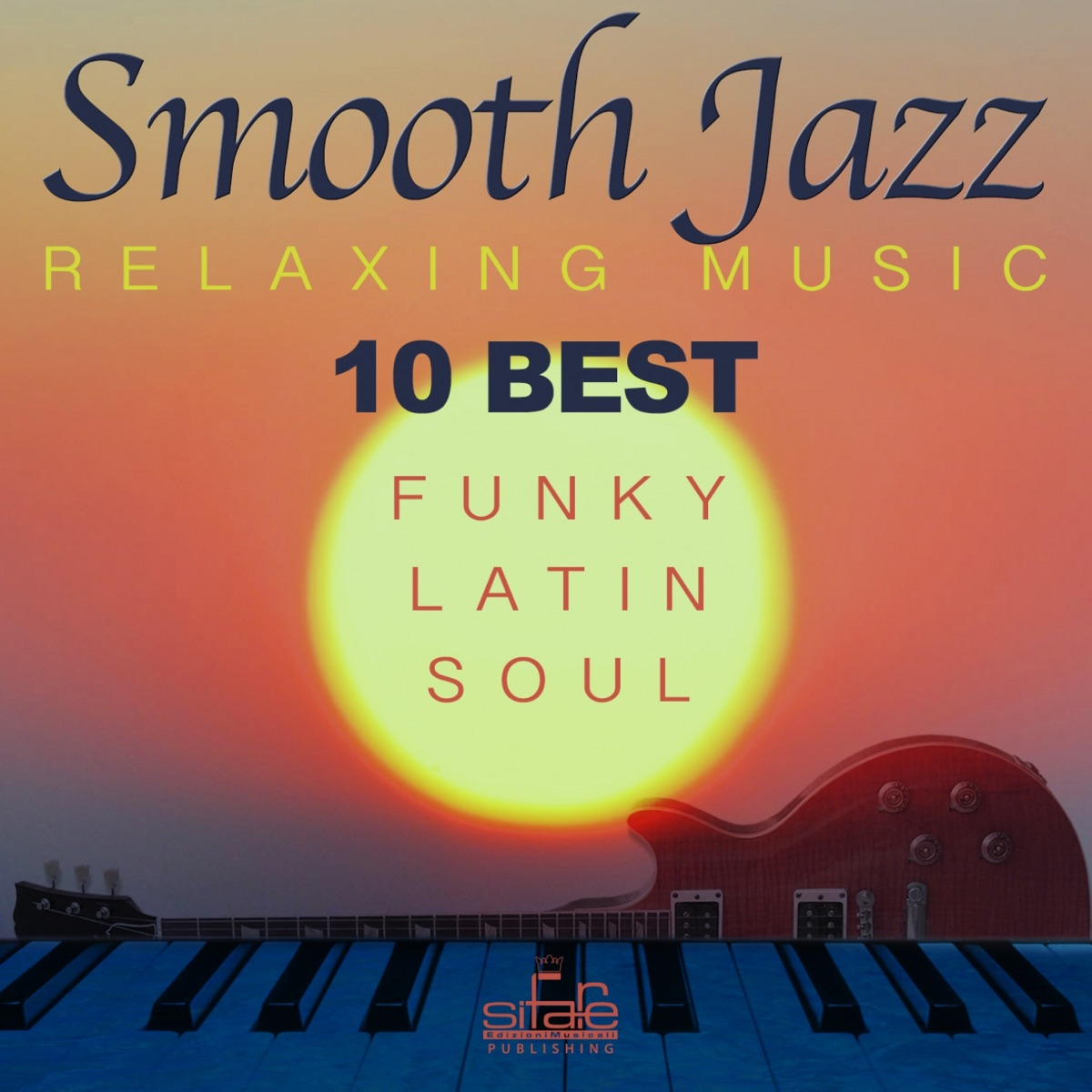 10 Best Smooth Jazz Relaxing Music Album Cover by Francesco