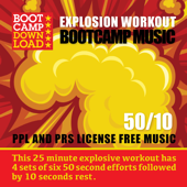 50 / 10 HIIT Explosion Workout Circuit Training Bootcamp Music (PPL & PRS License Free Music)