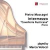 Marco Velocci - Cavalleria rusticana: intermezzo (Piano) portada