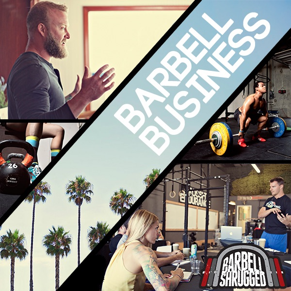 Barbell business podcast for gym owners by