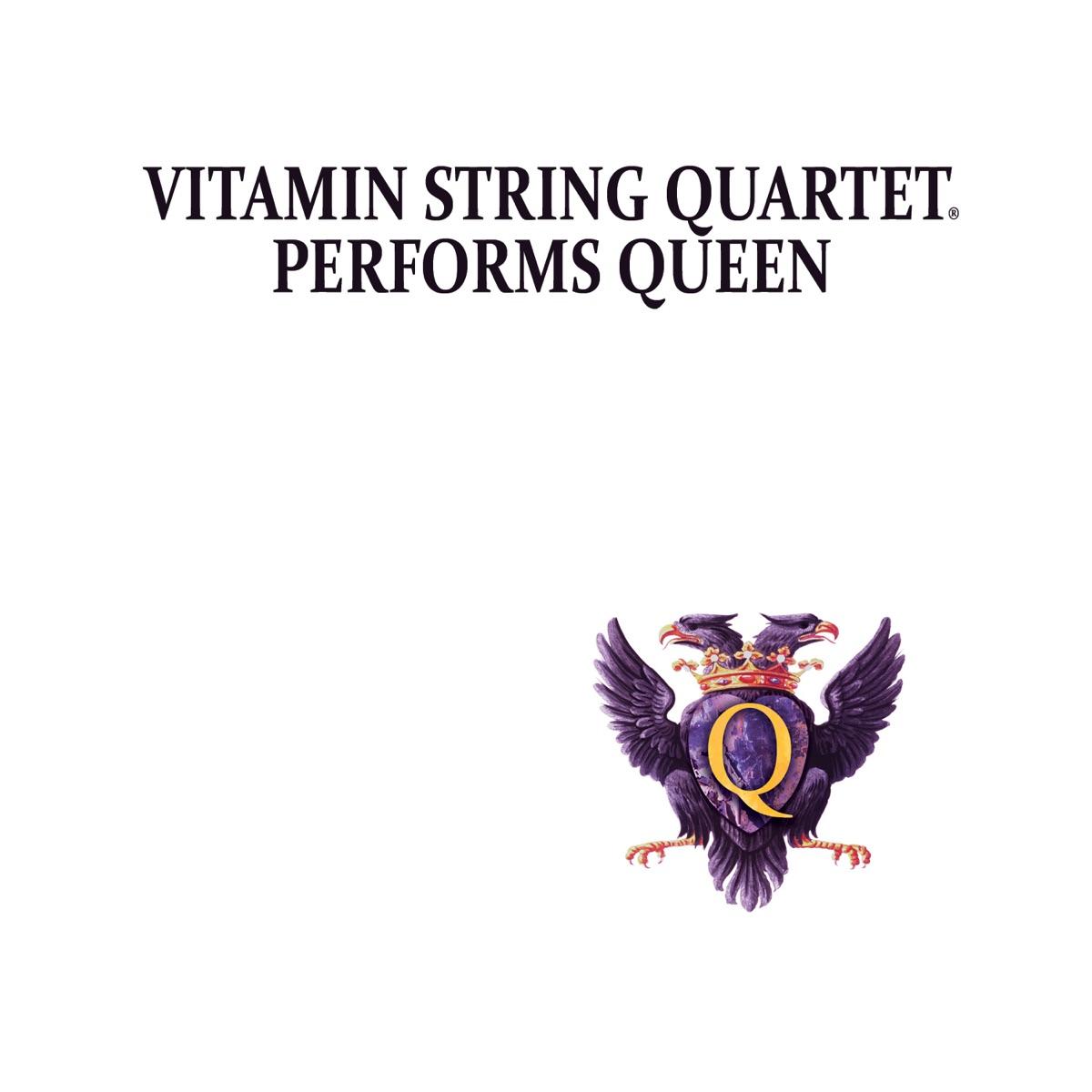 Vitamin String Quartet Performs Queen Vitamin String Quartet CD cover