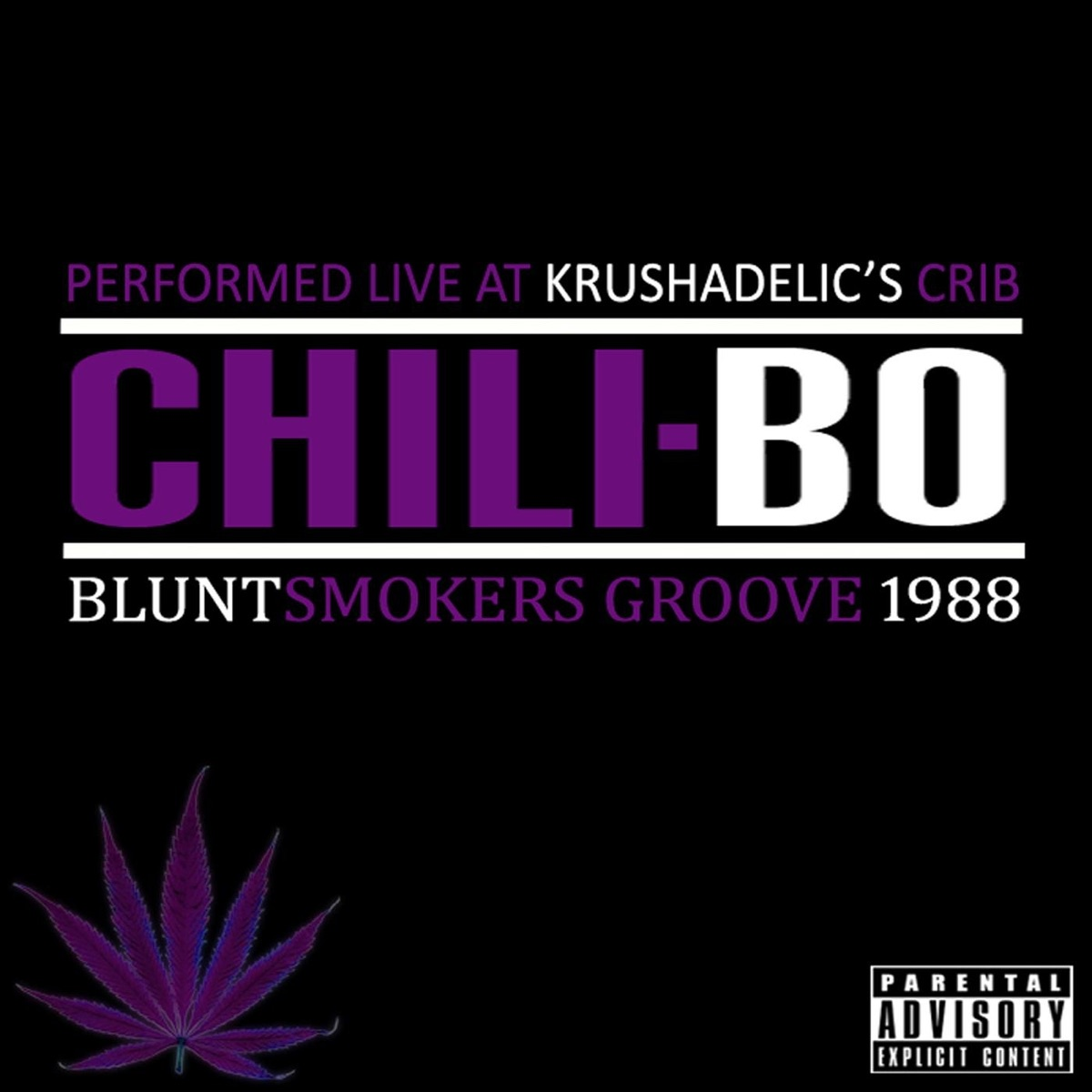 Bluntsmokers Groove 1988 - Single Chili-Bo CD cover