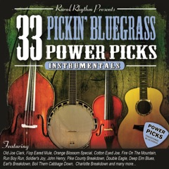 33 Pickin Bluegrass Power Picks - Instrumental