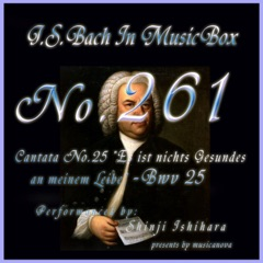 """Cantata No. 25, """"Es ist nichts Gesundes an meinem Leibe"""" - BWV 25 - EP"""