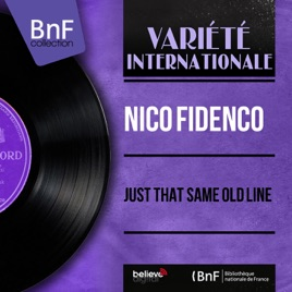 Just That Same Old Line (Mono Version) - EP by Nico Fidenco