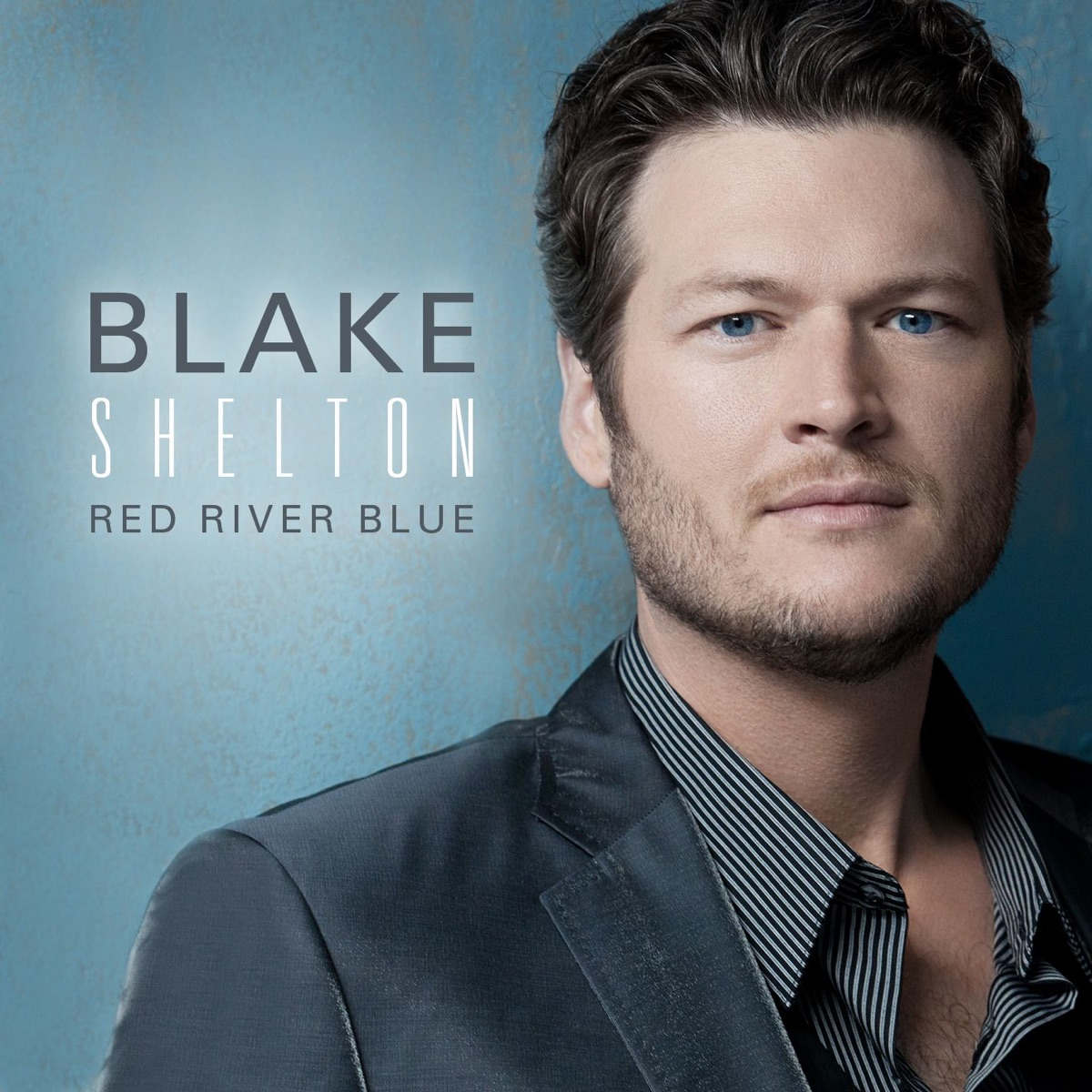 Red River Blue Deluxe Version Blake Shelton CD cover