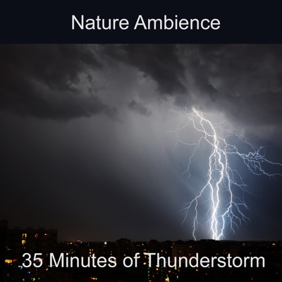 Thunderstorm Nature Ambience (Rain, Thunder, Lightning, Ambience, Nature Sound, Storm, Wind, Weather, Atmosphere, Soothing, Background) - Audionym album