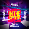 Happy (In the Style of Pharrel Williams) [Karaoke Version] - Ameritz Karaoke Planet