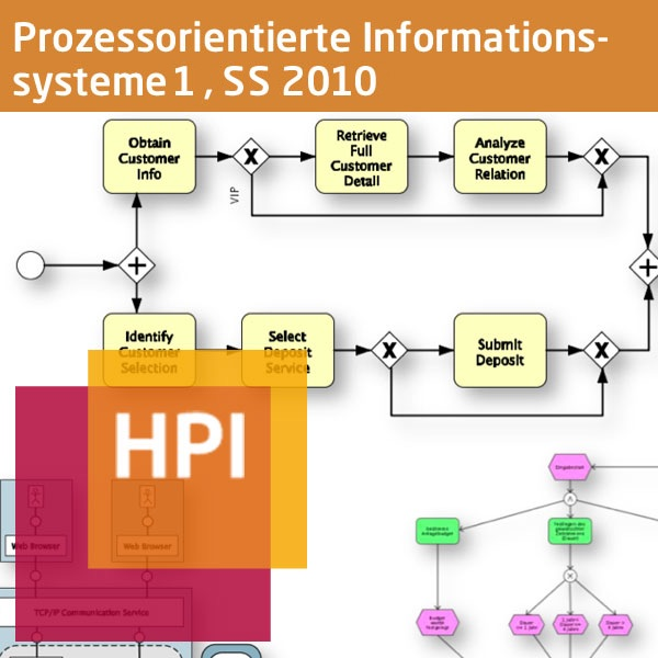 Prozessorientierte Informationssysteme I (SS 2010) - Created with tele-TASK - more than video! Powered by Hasso Plattner Inst