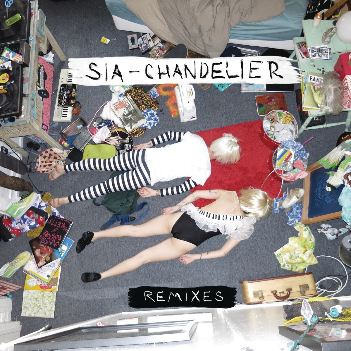 Chandelier Remixes - EP Sia CD cover