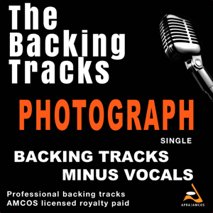 The Backing Tracks - Photograph (Backing Track)