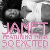 So Excited (feat. Khia) [Junior Vasquez Club Mix] - Single