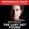 The Lost Get Found (Performance Tracks) - EP, Britt Nicole