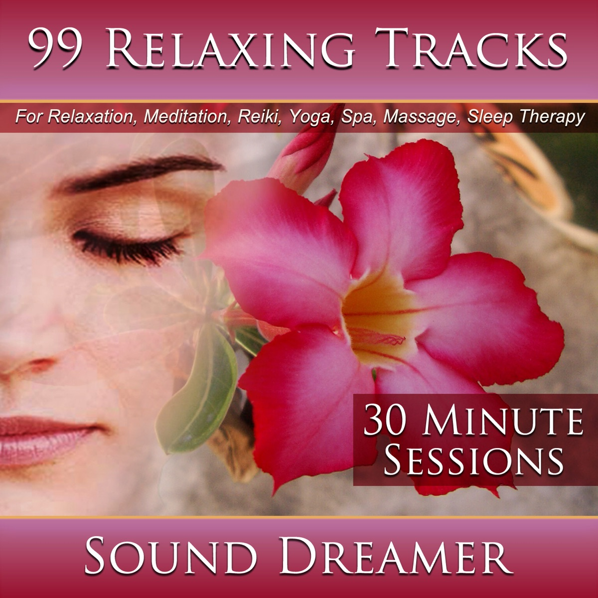 99 Relaxing Tracks Album Cover by Sound Dreamer