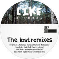 Bryan Kessler, David Hasert, Etwas Anders & Matteo Luis, Shia - The Lost Remixes artwork