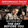 The Day Before You Performance Tracks EP