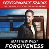 Forgiveness (Performance Tracks) - EP