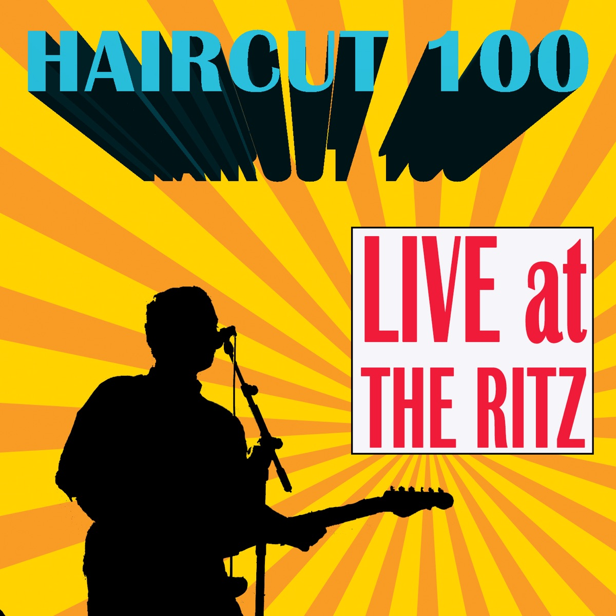 Live At The Ritz Album Cover By Haircut 100