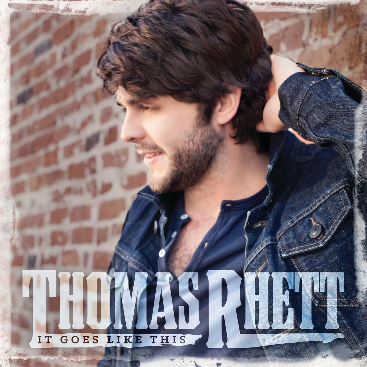 It Goes Like This Thomas Rhett CD cover