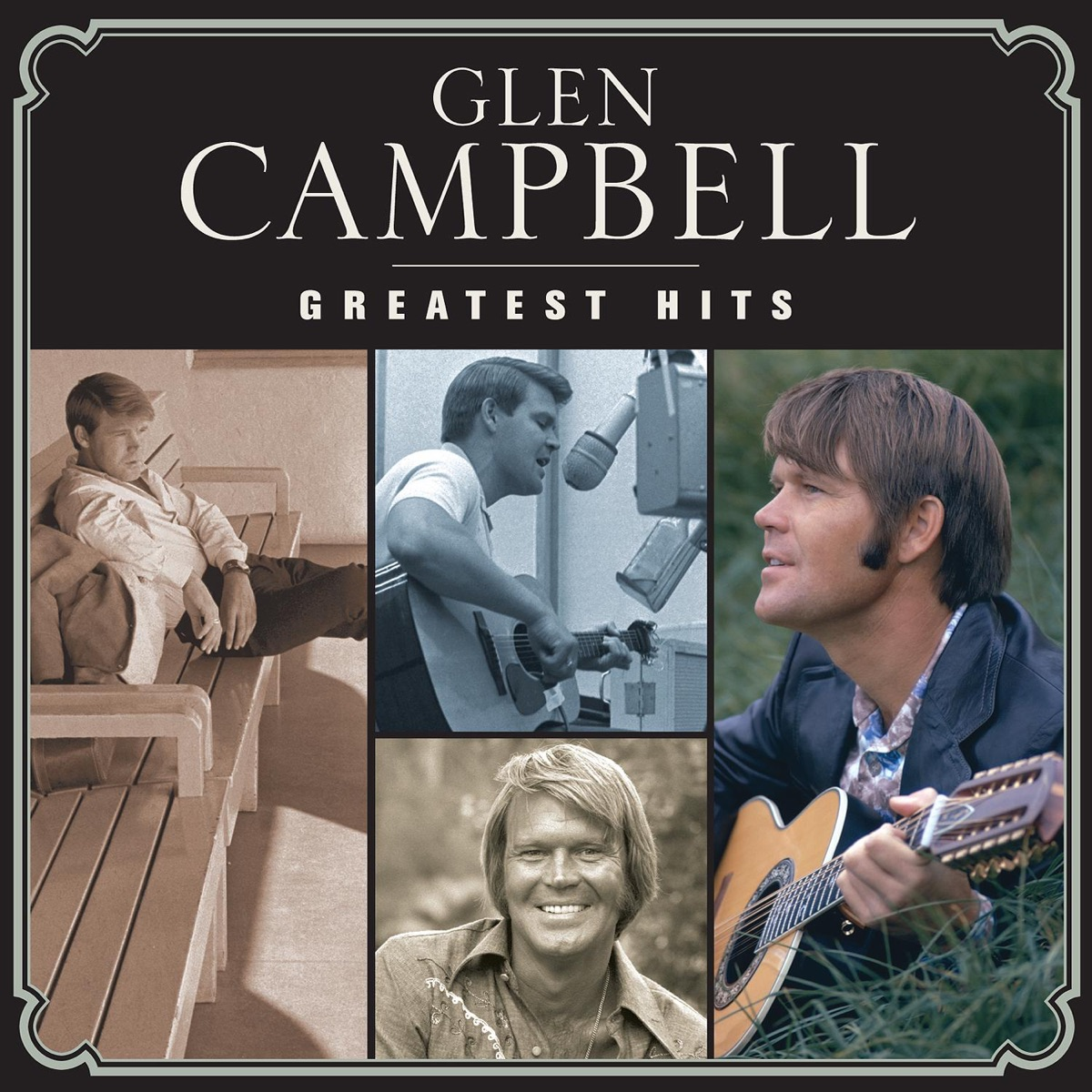 Greatest Hits Glen Campbell CD cover