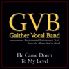 Gaither Vocal Band - He Came Down to My Level (Performance Tracks) - EP artwork