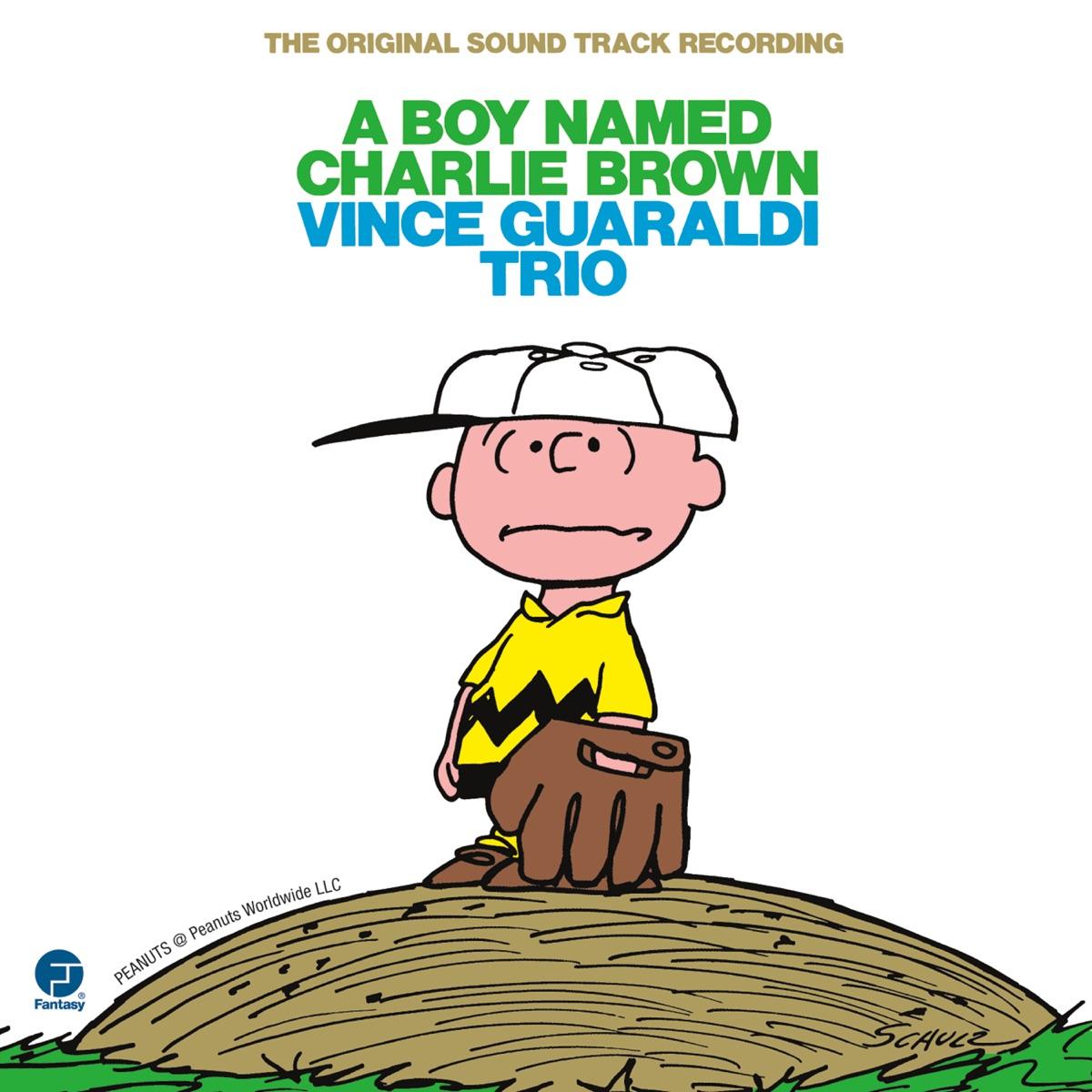 A Boy Named Charlie Brown The Original Soundtrack Recording Vince Guaraldi Trio CD cover