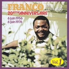 20Ème anniversaire de l'O.K Jazz, vol. 1 (6 juin 1956 - 6 juin 1976)
