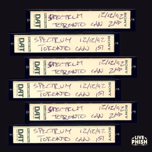 Phish: 12/12/92 The Spectrum, Toronto, ON (Live) - Phish - Phish