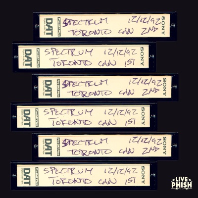 Phish: 12/12/92 The Spectrum, Toronto, ON (Live) - Phish album