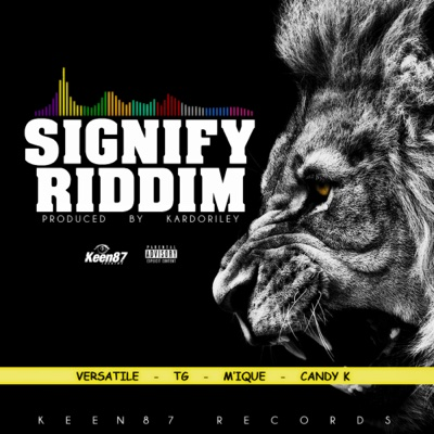 Signify Riddim - EP - Various Artists album