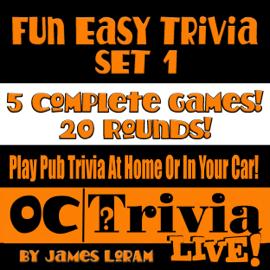 Fun Easy Trivia Set 1: An OC Trivia Live! Game Book (Unabridged) audiobook
