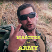 Marines vs Army Rap Battle (feat. Mat Best) - Mbest11x - Mbest11x