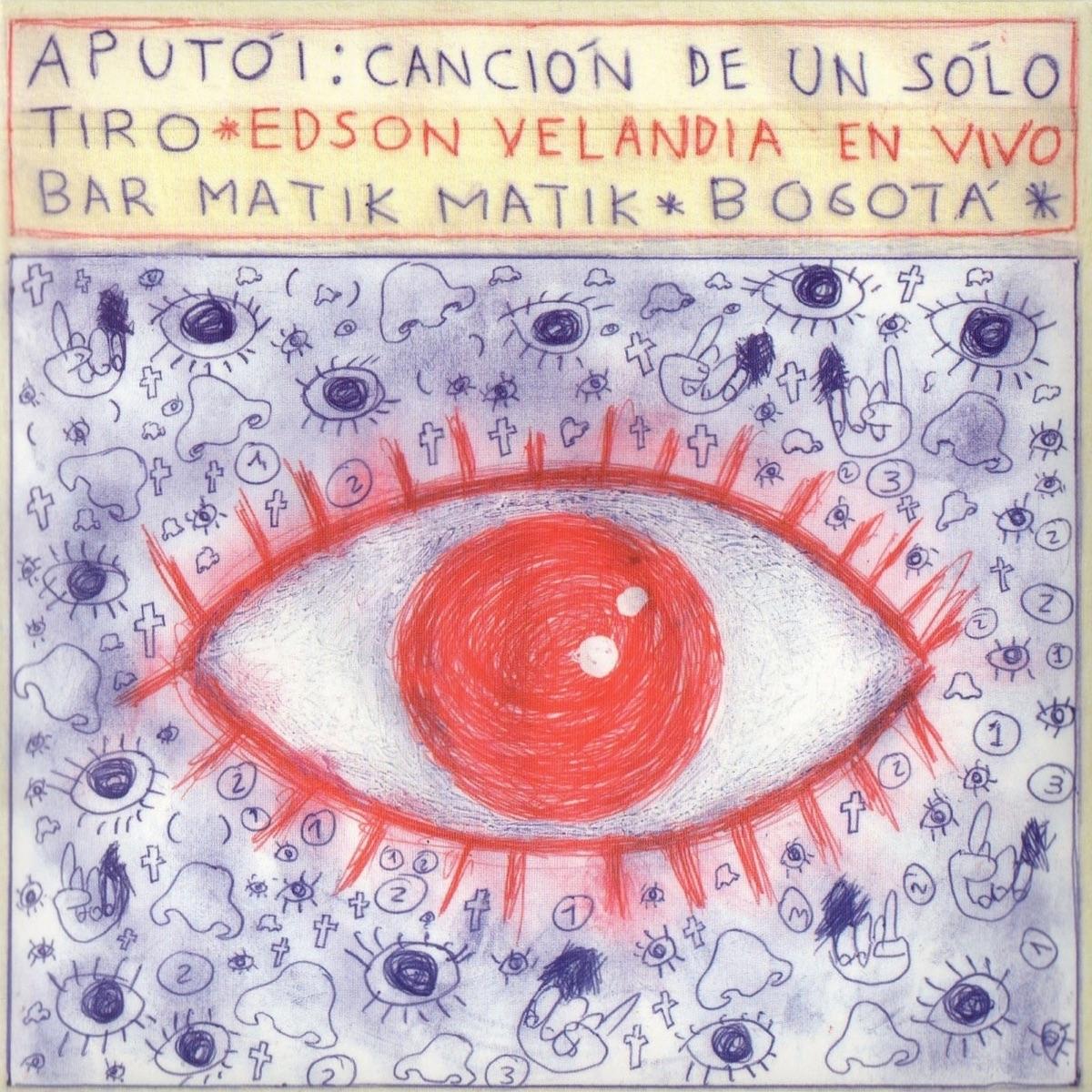 Atupói En Vivo feat Las Áñez Kike Mendoza Ricardo Gallo Santiago Botero  Sebastián Rozo Edson Velandia CD cover