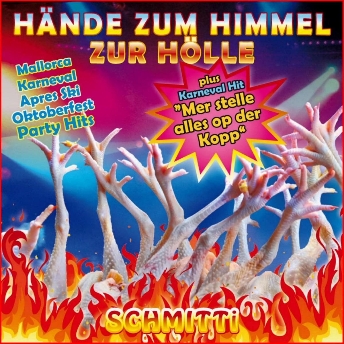 Hände zum Himmel zur Hölle Album Cover by Schmitti