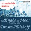 Annette von Droste-HГјlshoff - Der Knabe im Moor Grafik