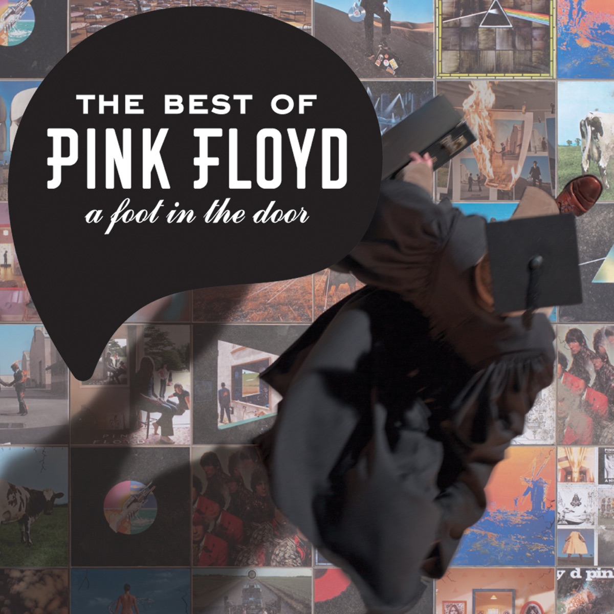 A Foot In The Door: The Best Of Pink Floyd Album Cover By