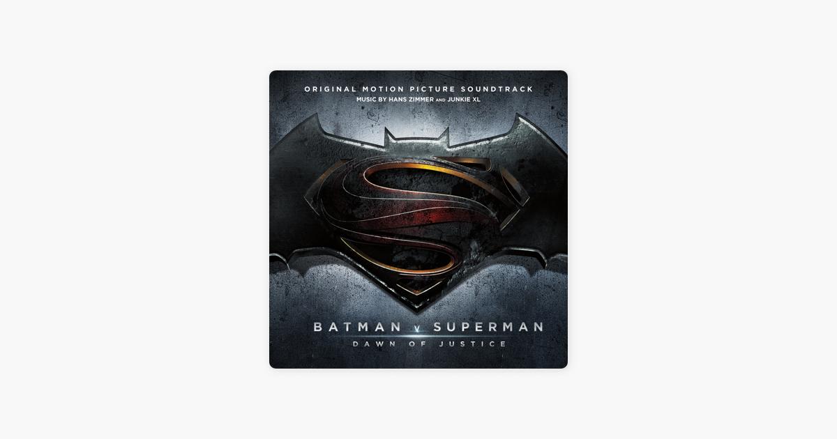 ハンス ジマー junkie xlの batman v superman dawn of justice