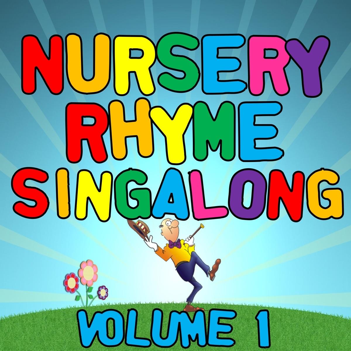 Kids Nursery Rhymes Singalong Hits, Vol  1 Album Cover by