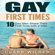 Clark Wilder - Gay First Times: 10 Gay Men Share Their First Time with a Man (Unabridged)