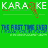 The First Time Ever I Saw Your Face (In the Style of Journey South) [Karaoke Instrumental Version]