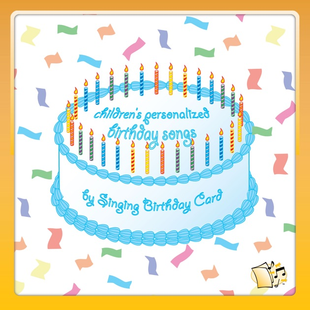 Blues Personalized Birthday Songs By Singing Card On ITunes
