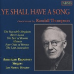 American Repertory Singers & Leo Nestor - The Peaceable Kingdom: Say Ye to the Righteous